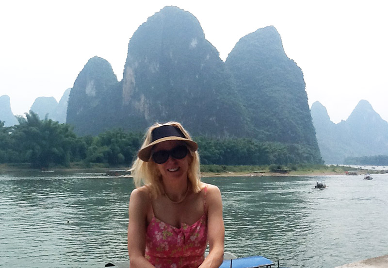 Cruising in Guilin