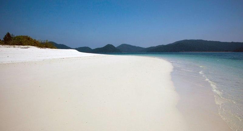 A typically deserted Mergui beach