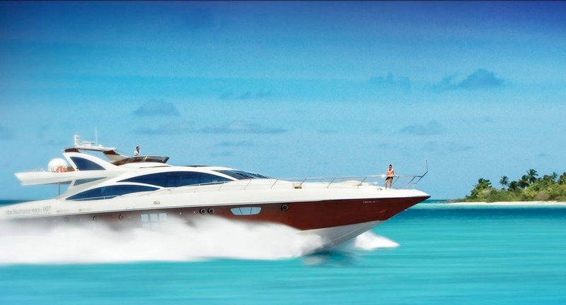 Maldives superyacht - the ultimate in luxury