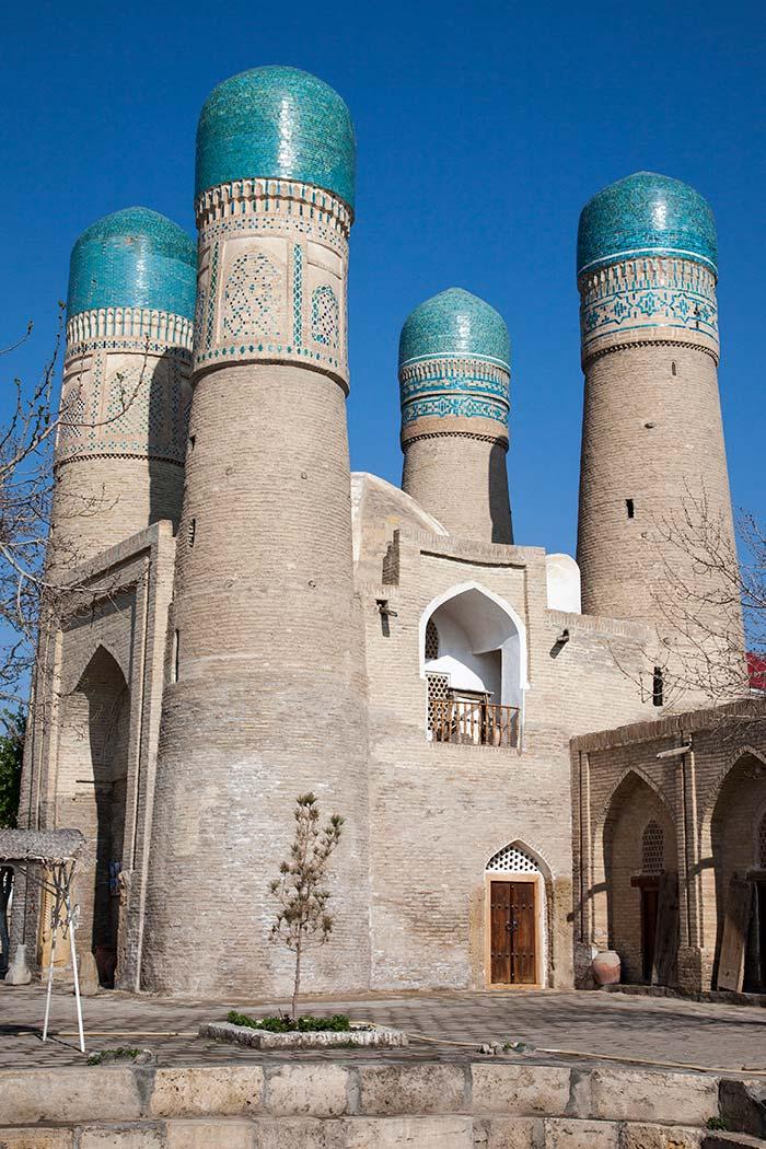 Bukhara's iconic Char Minor.