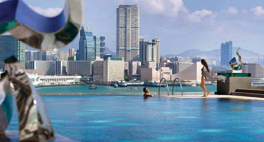 To infinity & beyond at the Four Seasons Hong Kong