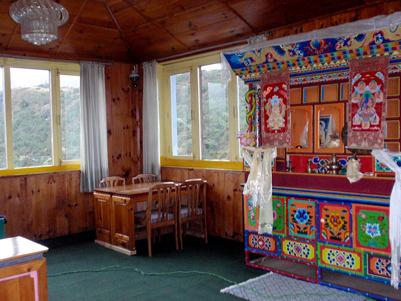 My basic hotel in Syanboche.