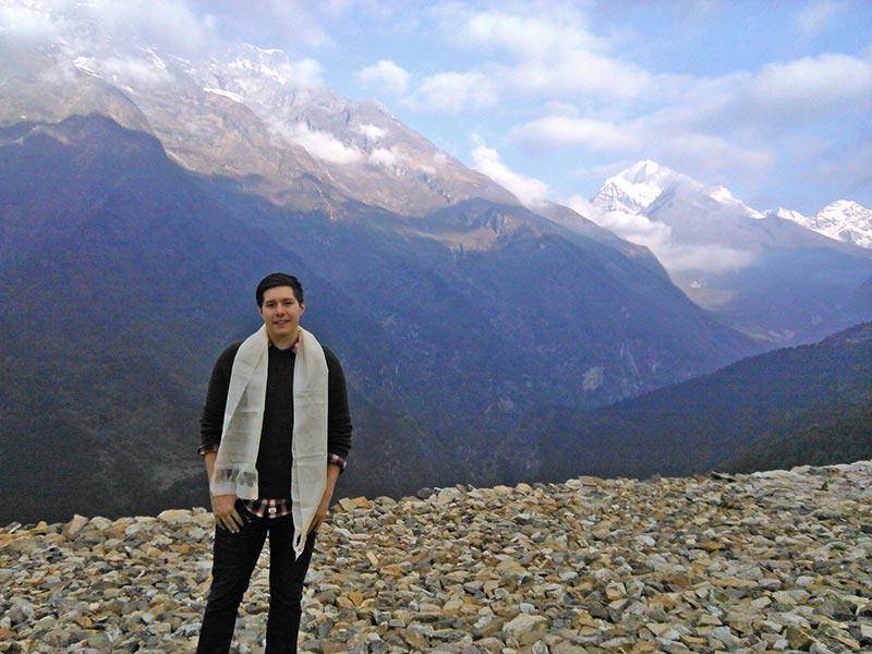 Brett in Nepal