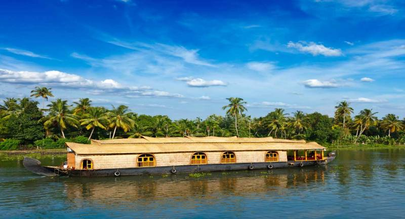 A houseboat cruise - the quintessential Kerala experience