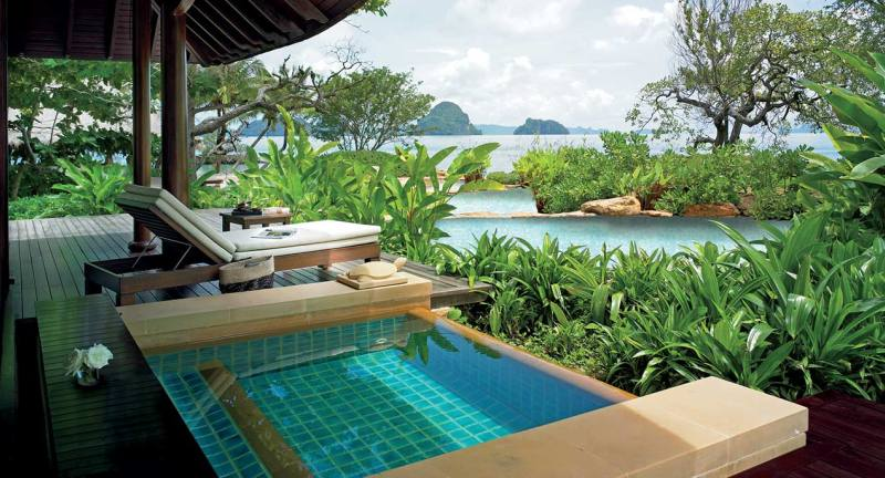 Complete privacy at Ritz-Carlton Phulay Bay