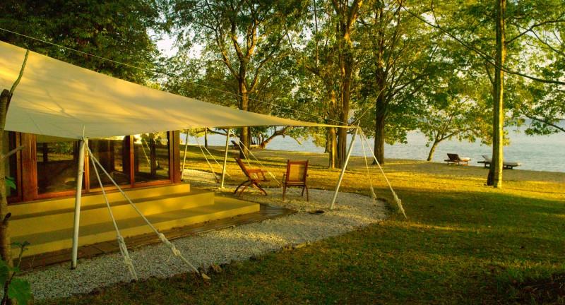 Amanwana - Ocean Tent at Dusk