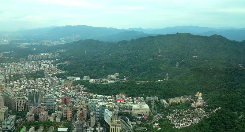 Town & Country - Taipei from above