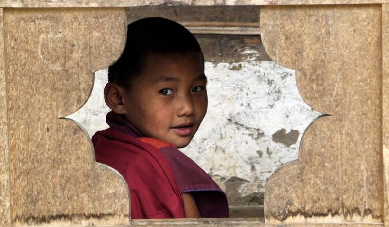 Novice monk, Bumthang