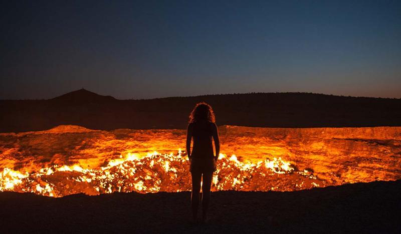 Turkmenistan's bizarre Door to Hell