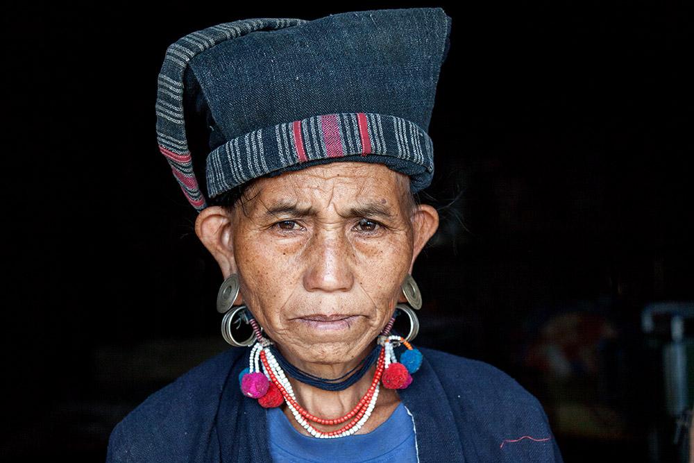 A Hmong woman.