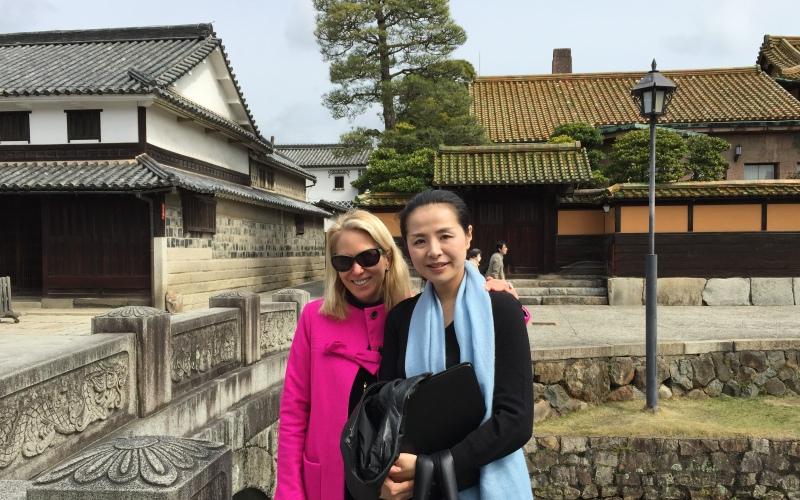 Ritsuko Nakamura and me