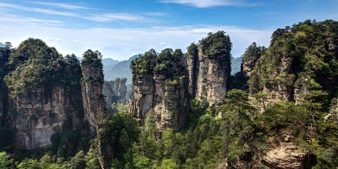 The Avatar Experience in Zhangjiajie National Park