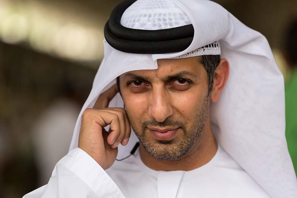 An Emirati man at the Al Ain souk.
