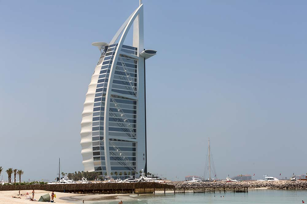 Dubai's iconic Burj al Arab