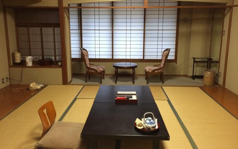 My room at Fujiya Ryokan