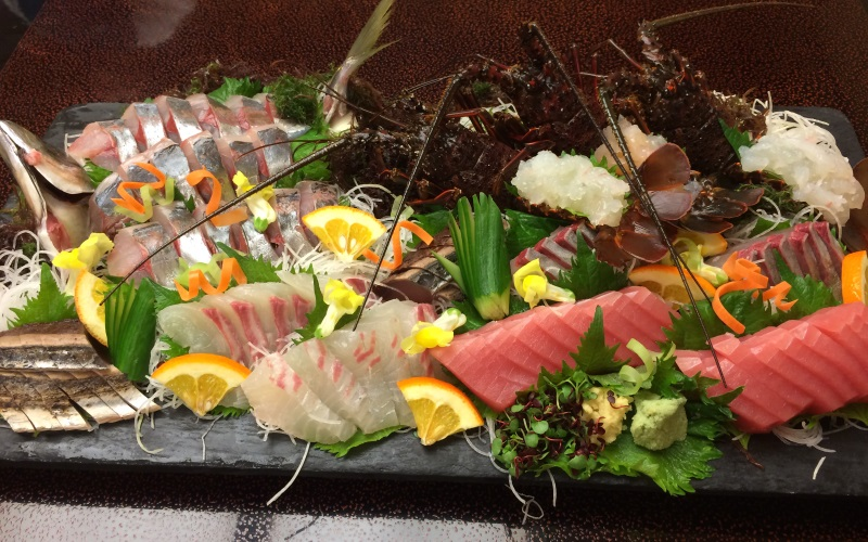 Kaiseki dinner at Nakanoshima Hotel