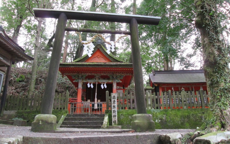 Kumano trail shrine