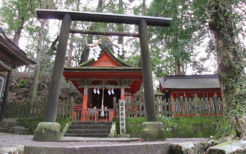 Kumano trail shrine