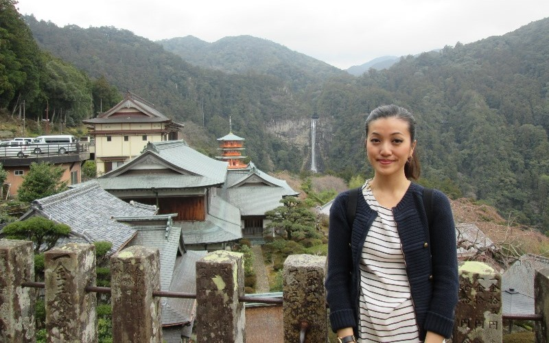 Trinity at Nachi Shrine