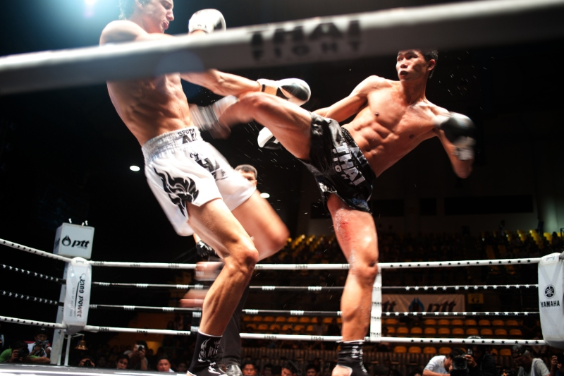 Muay Thai is a national obsession in Thailand