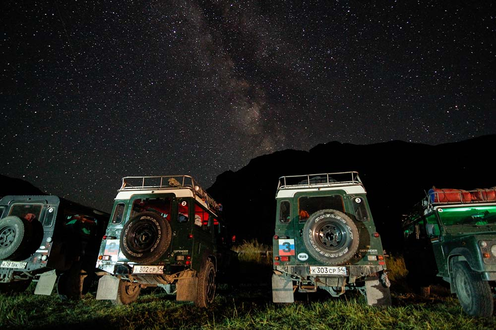 The stars during our night in the Chulyshman Valley were some of the most spectacular I've ever seen.