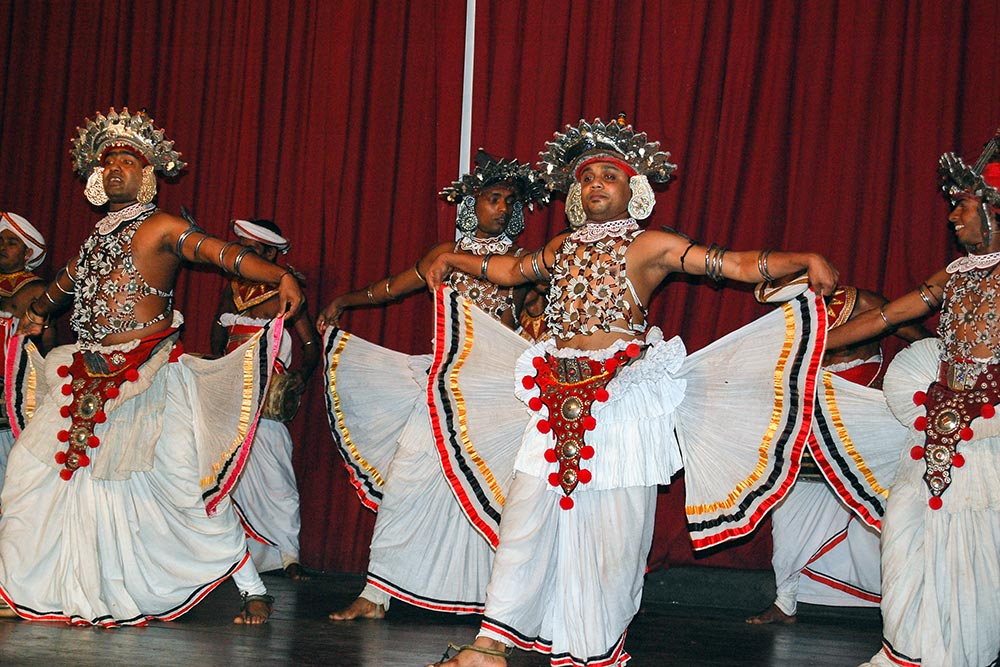 Traditional dancers in Kandy.