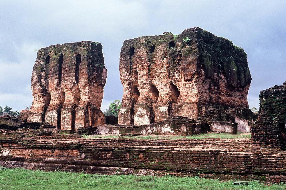 Polonnaruwa is dotted with many impressive ruins.
