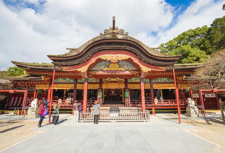 Dazaifu shrine in Fukuoka, Japan