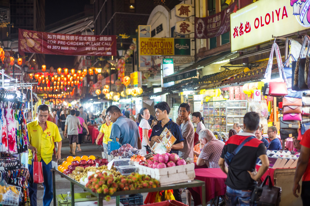 Kuala Lumpur Street Food Market