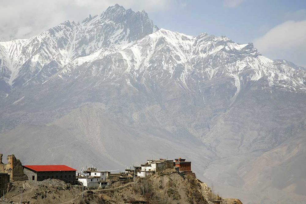 The village of Jomsom