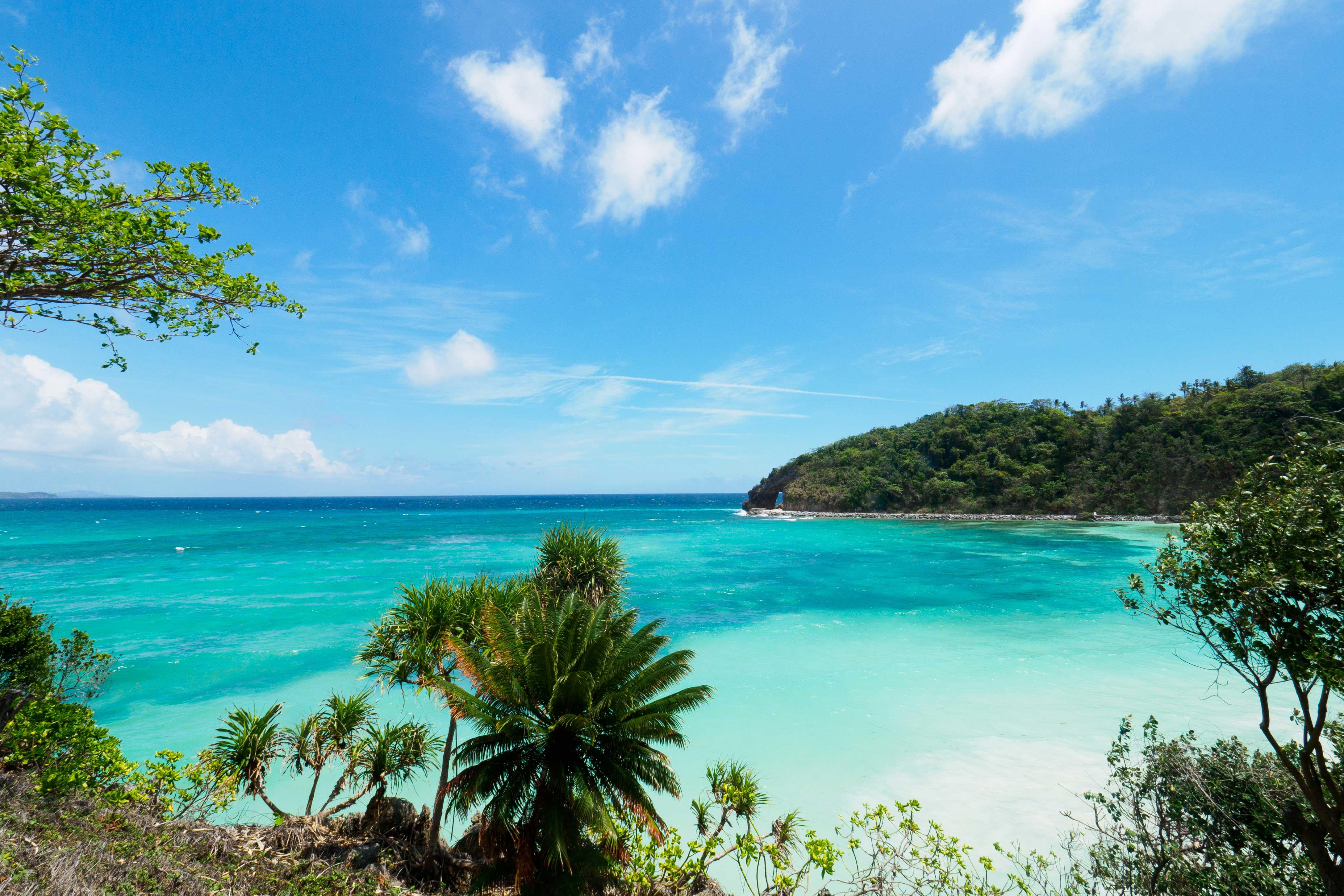 Beautiful beach in Boracay, Philippines