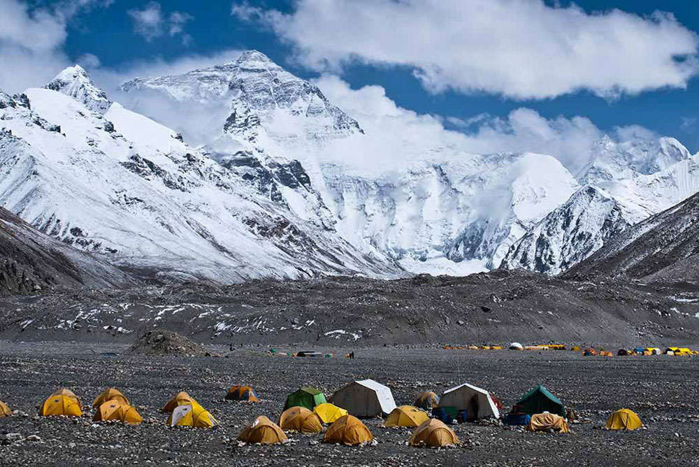 Mount Everest Base Camp – Tibet