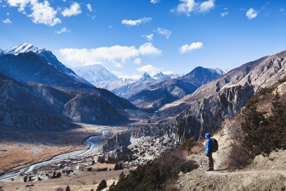 Trekking in Nepal, Annapurna circuit view
