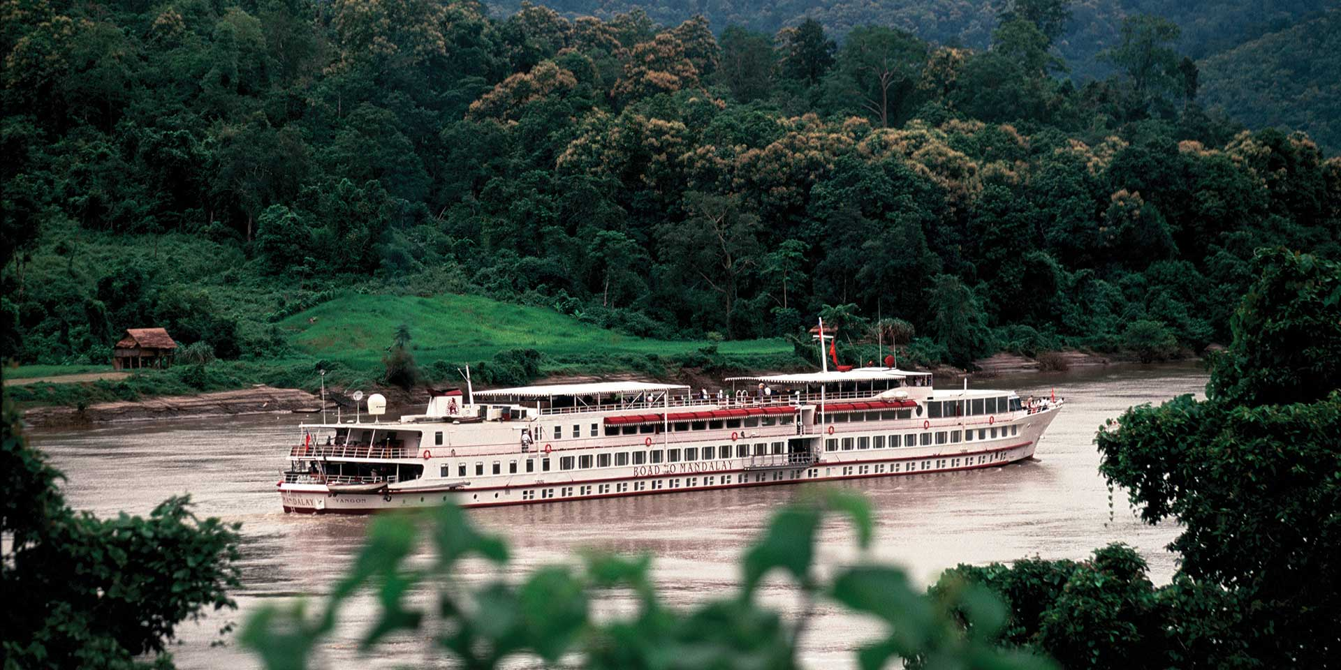 Top Luxury Cruises in Myanmar