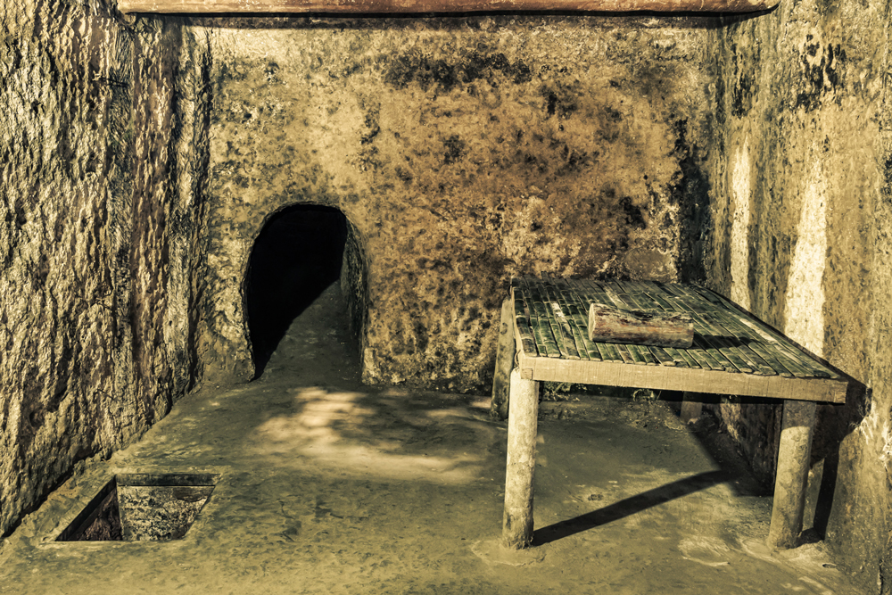 Cu Chi Tunnels in Ho Chi Minh City