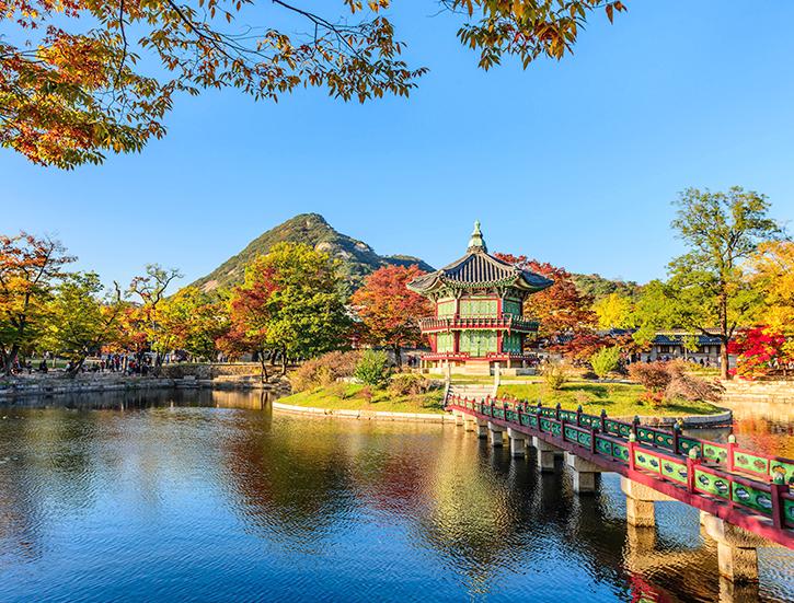 Gyeongbokgung Palace In Seoul,Korea.
