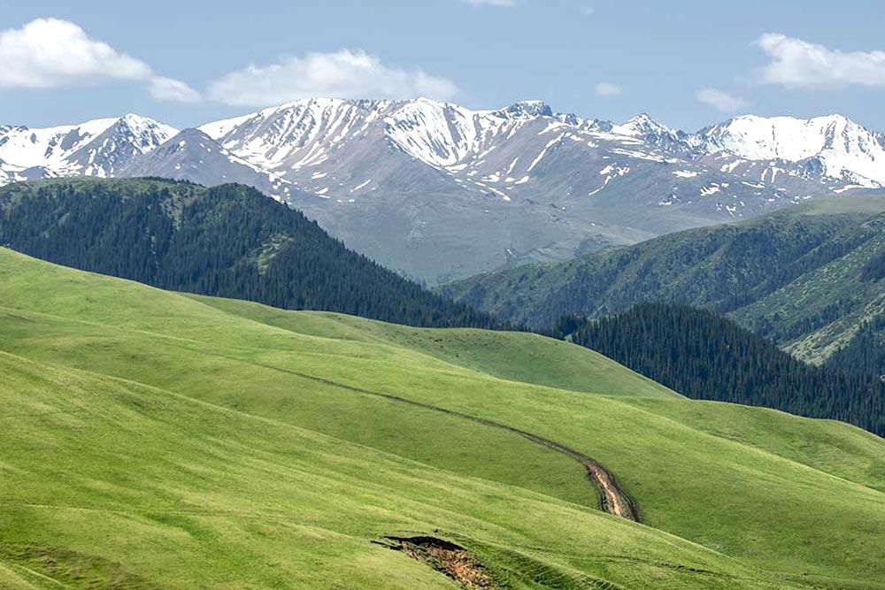 Mountain Observatory. Assy plateau. Kazakhstan