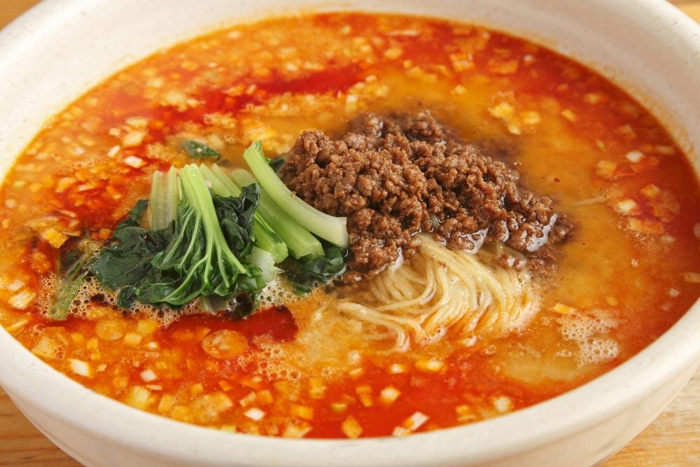Sichuan Style Sesame Hot Noodles