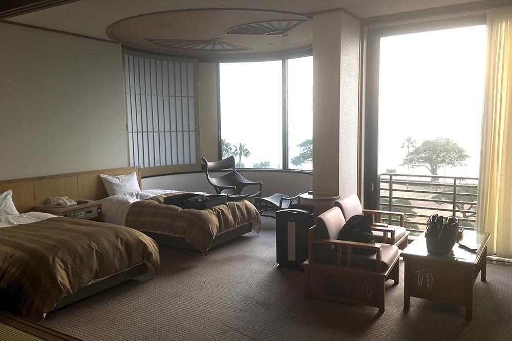 My suite at Ibusuki Hakusuikan