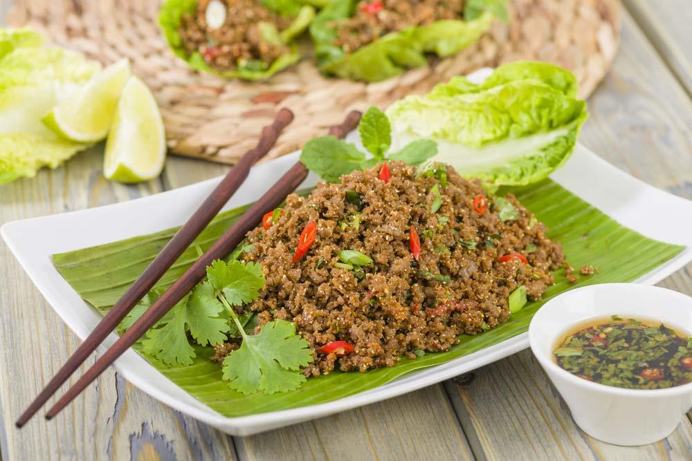 Laab Laos style