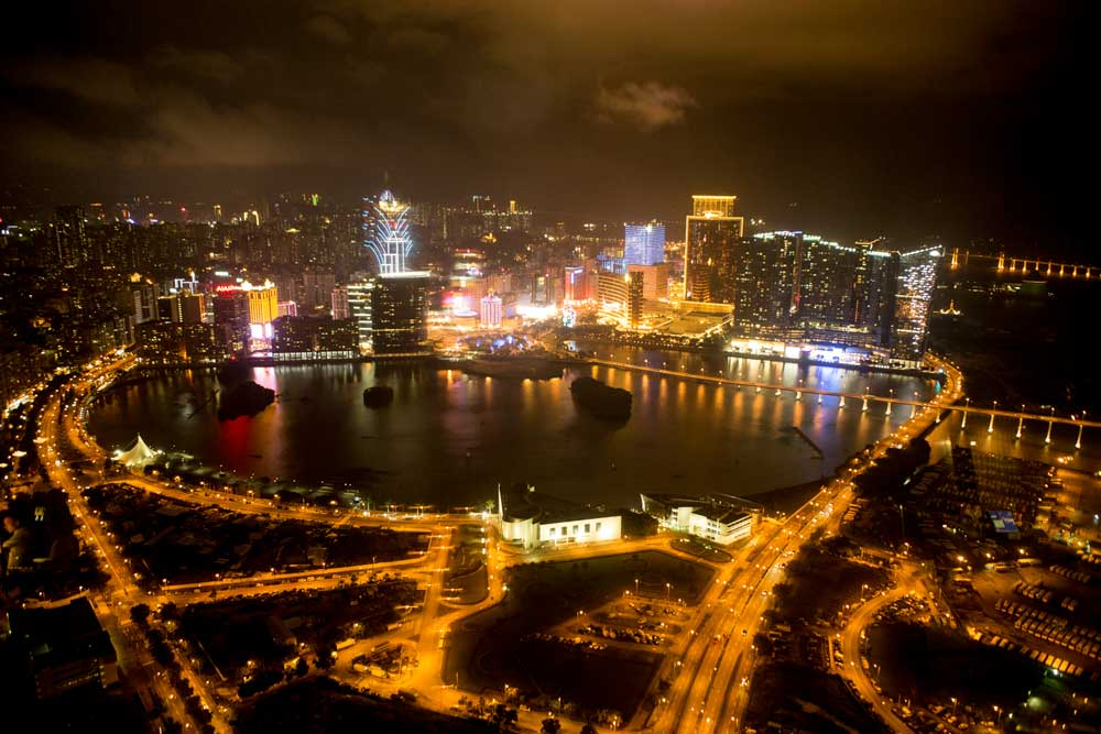 The view from the Macao Tower