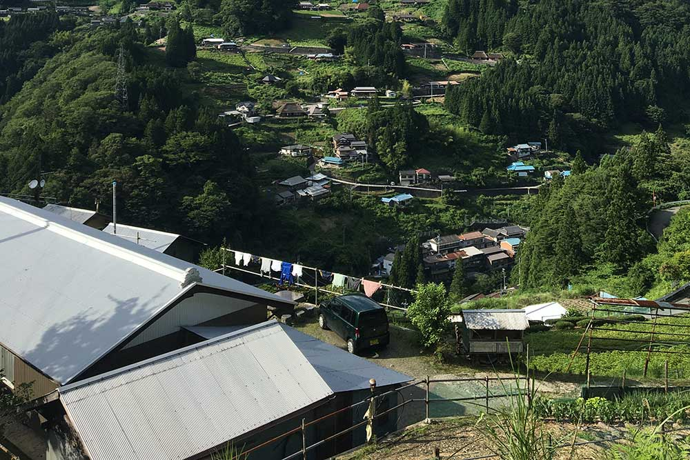 Alex Karr houses that I stayed in in Iya Valley