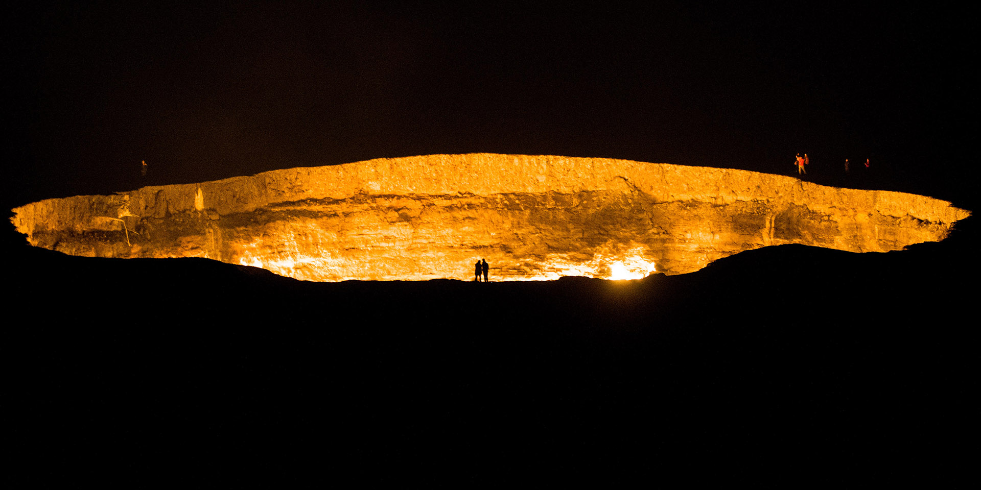 Knocking on Turkmenistan's Door to Hell