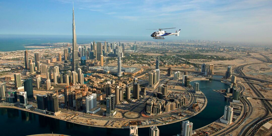 Chopper Over Dubai