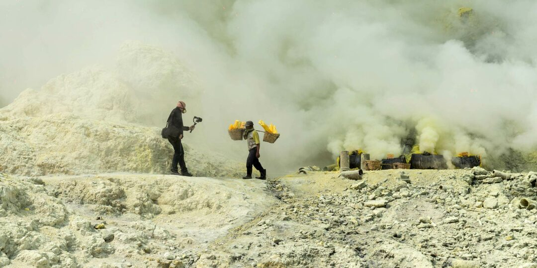 Into Ijen: Acid Lake, Poison Air