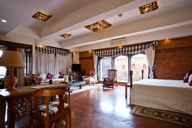 Above one of the most luxurious accommodations in nepal dwarikas hotel is from dwarika das shrestha