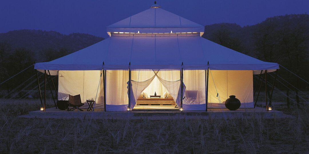 Glamping with Tigers at Aman-i-Khas