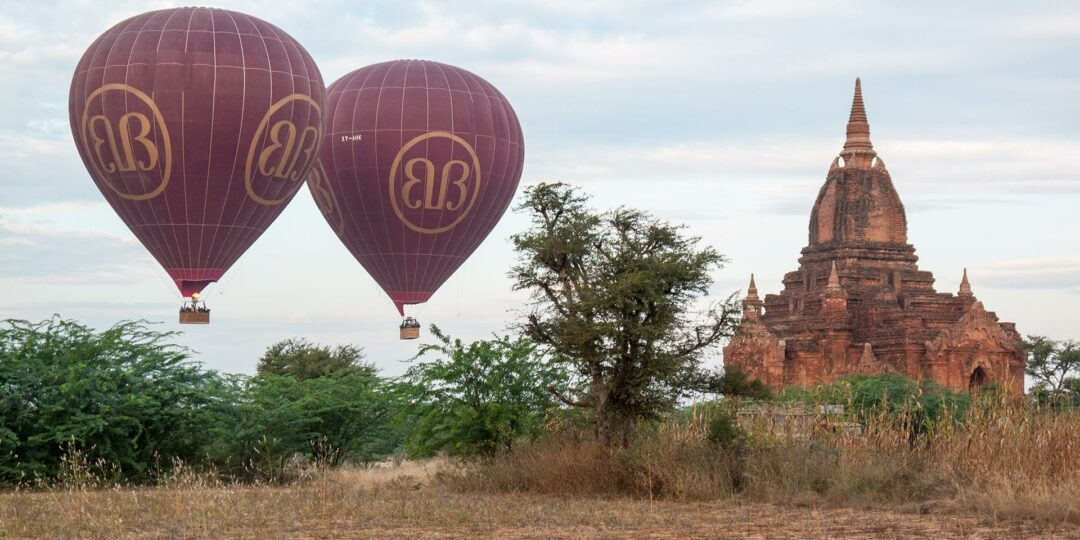 Changing Winds on the Bagan Balloons