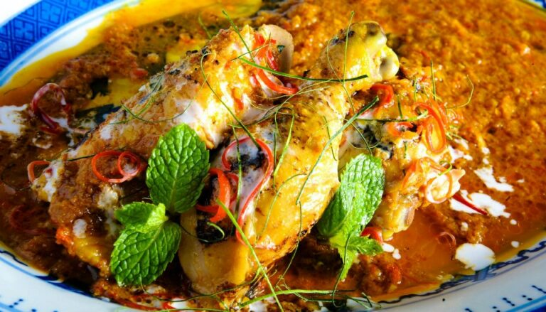 Grilled Chicken Kapitan