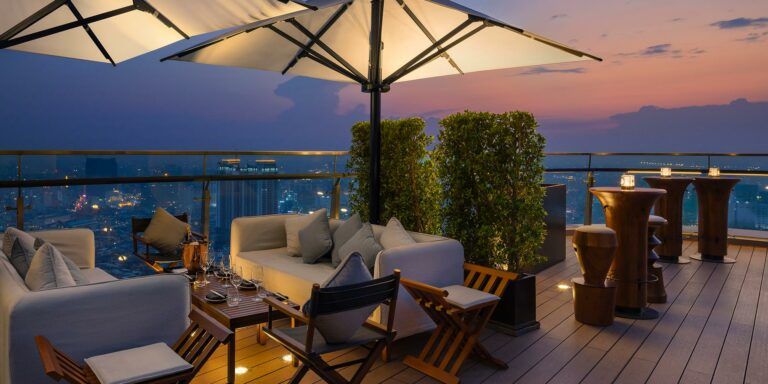 Sky's the Limit: Best Rooftop Bars in Phnom Penh